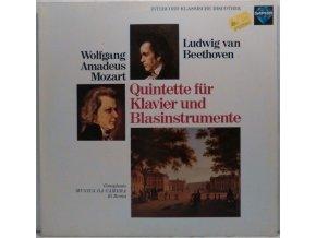 LP Ludwig van Beethoven, Wolfgang Amadeus Mozart, Complesso Musica Da Camera di Roma - Quintette Für Klavier Und Blasinstrumente, 1978