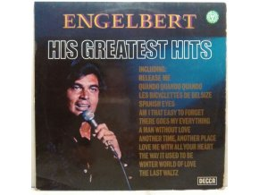 LP Engelbert Humperdinck - Greatest Hits, 1974