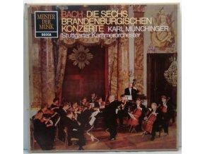 2LP Box J.S. Bach, Karl Münchinger  - Brandenburgische Konzerte