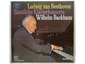 3LP Box  L. Beethoven, Wilhelm Backhaus - Sämtliche Klavierkonzerte, 1977