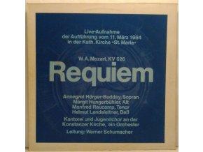 LP Wolfgang Amadeus Mozart - KV 626, Requiem, 1984
