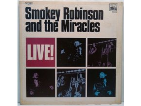 LP  Smokey Robinson And The Miracles - Live! 1969