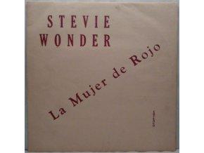LP  Stevie Wonder - La Mujer De Rojo