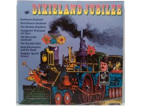 2LP Various - Dixieland Jubilee, 1973
