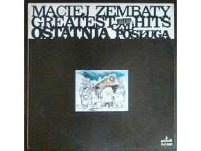 LP Maciej Zembaty – Greatest Hits Czyli Ostatnia Posługa, 1988