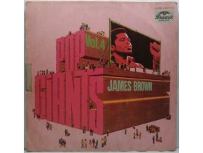 LP James Brown - Pop Giants, Vol. 4, 1970