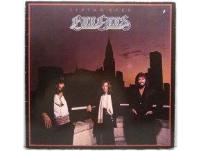 LP Bee Gees – Living Eyes, 1981