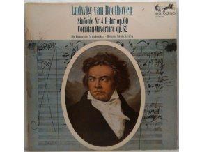 LP Ludwig van Beethoven - Bamberger Symphoniker, István Kertész - Sinfonie Nr. 4 B-dur Op. 60 / Coriolan-Ouvertüre Op. 62