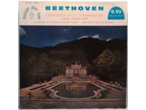 "LP Beethoven, Walther Kamper, Orchestre De L'opéra D'etat De Vienne , Direction: Hans Swarowsky – Concerto N° 5 ""L'Empereur"""