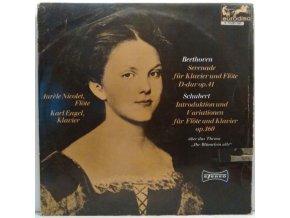 LP Beethoven - Serenade für Klavier und Flöte D-dur op. 41/Schubert - Introduktion und Variationen für Flöte und Klavier op. 160