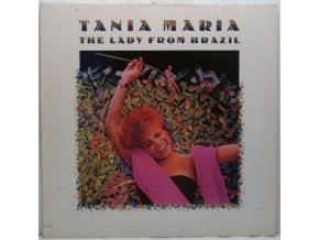 LP Tania Maria – The Lady From Brazil, 1986