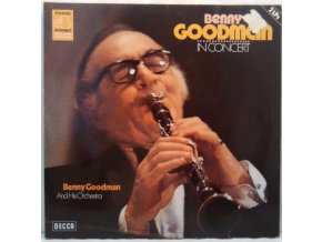2LP Benny Goodman And His Orchestra ‎– Benny Goodman In Concert (Recorded Live In Stockholm) 1970