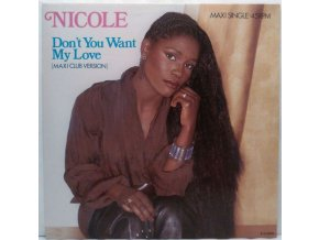 Nicole McCloud ‎– Don't You Want My Love, 1985