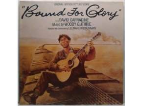 LP Woody Guthrie, Leonard Rosenman, David Carradine ‎– Bound For Glory - Original Motion Picture Score, 1977