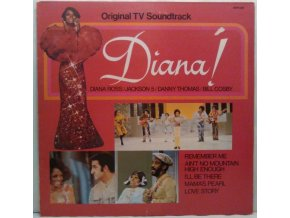 LP Various ‎– Diana! (Original TV Soundtrack) 1986