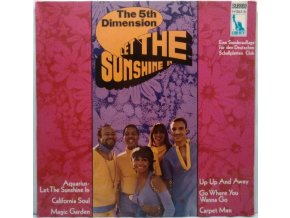 LP The 5th Dimension ‎– Let The Sunshine In, 1969