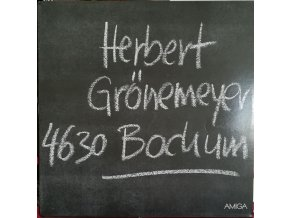 LP Herbert Grönemeyer –  4630 Bochum, 1984