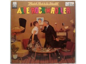 LP Rudolf Rock & Die Schocker ‎– Alte Rock 'N' Roller, 1980