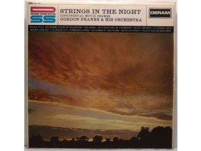 LP Gordon Franks & His Orchestra ‎– Strings In The Night (Continental Movie Themes) 1967