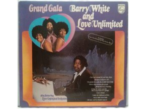 LP Barry White And Love Unlimited ‎– Grand Gala, 1973