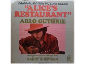 LP Various ‎– Alice's Restaurant (Original Motion Picture Score), 1969