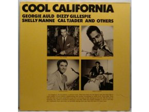 2LP Georgie Auld, Dizzy Gillespie, Shelly Manne, Cal Tjader And Unknown Artist ‎– Cool California, 1981