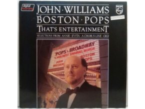 LP John Williams - Boston Pops ‎– That's Entertainment / Pops On Broadway, 1981