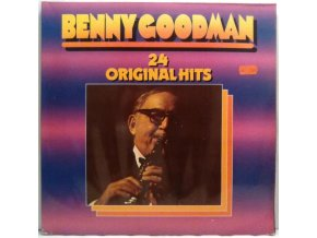 2LP Benny Goodman And His Orchestra ‎– 24 Original Hits, 1980