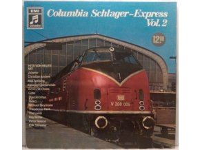 LP Various ‎– Columbia Schlager-Express Vol. 2