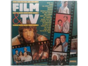 LP Hollywood Studio Orchestra (2) – 18 Famous Film Tracks & TV Themes, 1985