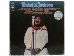 LP Mahalia Jackson - Welcome To Europe, 1969