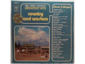 2LP Various ‎– The Music Company Greatest Hits Country And Western, 1971