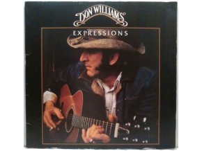 LP Don Williams - Expressions, 1978