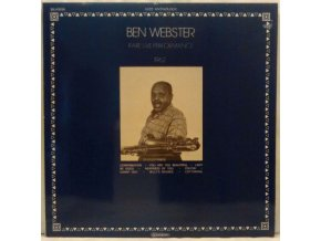 LP Ben Webster ‎– Rare Live Performance 1962
