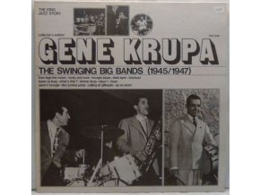 LP Gene Krupa ‎– The Swinging Big Bands (1945/1947) 1974