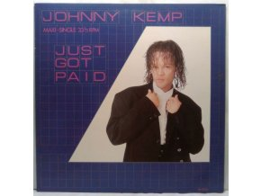 Johnny Kemp - Just Got Paid, 1988