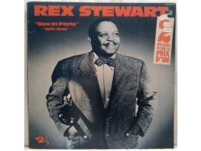 2LP Rex Stewart - Rex In Paris 1947-1948, 1975