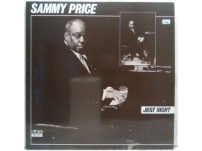 LP  Sammy Price - Just Right, 1977