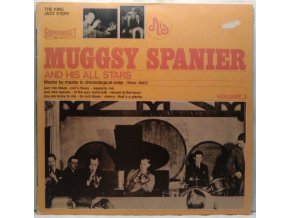 LP Muggsy Spanier ‎– Muggsy Spanier And His All Stars, 1975