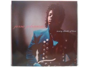 LP  Jesse Johnson ‎– Every Shade Of Love, 1988