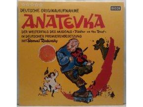LP Shmuel Rodensky – Anatevka - Deutsche Originalaufnahme
