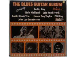 LP Various ‎– The Blues Guitar Album Volume 2, 1982