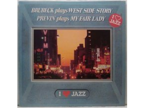 LP  Brubeck, Previn – Brubeck Plays West Side Story / Previn Plays My Fair Lady, 1983