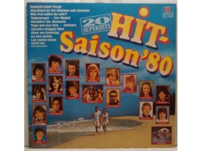 LP Various ‎– Hit-Saison'80 20 Superhits, 1980
