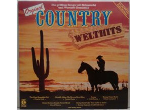 LP Various ‎– Original Country Welthits, 1984