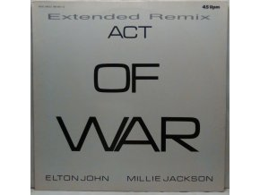 Elton John / Millie Jackson ‎– Act Of War (Extended Remix) 1985