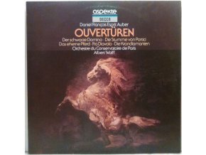 LP Daniel-Francois-Esprit Auber - Ouvertüren, 1961