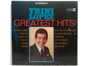 LP Trini Lopez - Greatest Hits!