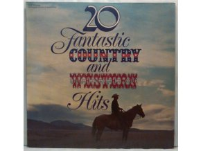 LP Various - 20 Fantastic Country And Western Hits, 1976