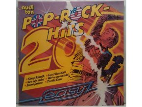 LP Unknown Artist ‎– 20 Pop-Rock-Hits - Easy, 1977